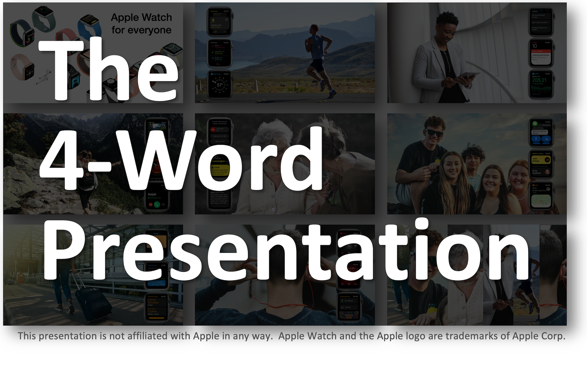 The 4-Word Presentation